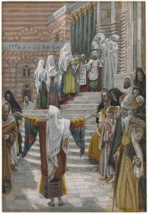 La présentation de Jésus au Temple, James Tissot